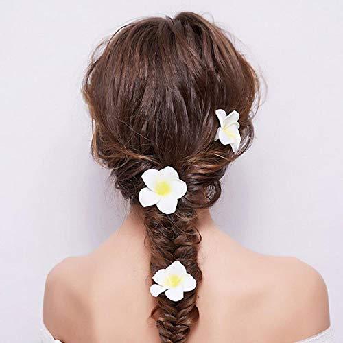 Artificial-Plumeria-9Cm-Plumeria-Hawaiian-Foam-Frangipani-Flower-Artificial-Flower-for-Wedding-Party-Decoration-100-PackWhite