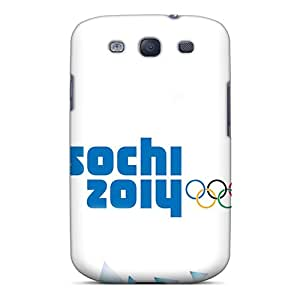 Durable Protector Case Cover With The Sochi 2014 Winter Olympics Hot Design For Galaxy S3
