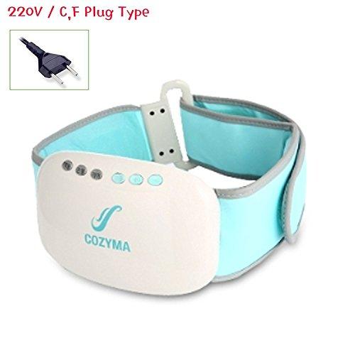 Cozyma CMT-03 Addio Belly Vibration belt Massager Elasticity Diet Air Massage by SSGSSK