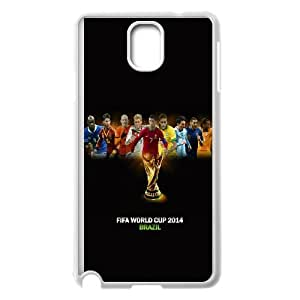 Samsung Galaxy Note 3 Cell Phone Case White World Cup Stars SU4399487
