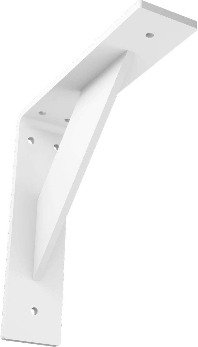 Ekena Millwork Bktm02x08x08trpwh Steel Bracket Traditional 2 W X 8 D X 8 H White Primer