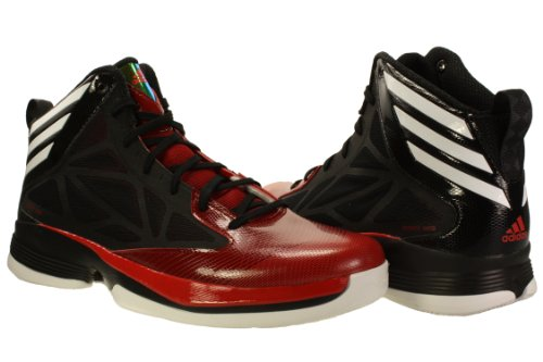 Adidas Mens Crazy Fast Basketball Shoes Black/White/Red 2014 newest cheap online outlet shop pgHxM