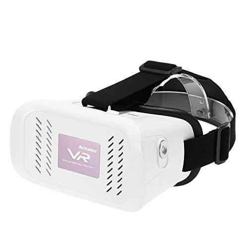 Arealer Universal 3D Virtual Reality Glasses Headset with Magnetic Switch