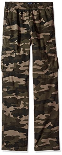 - The Children's Place Big Boys' Pull-on Cargo Pant, Olive Camo, 16H