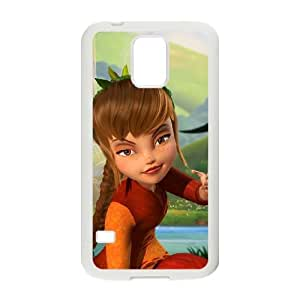 Samsung Galaxy S5 Cell Phone Case White Tinker Bell and the Great Fairy Rescue Phone Case Protective Hard XPDSUNTR04230