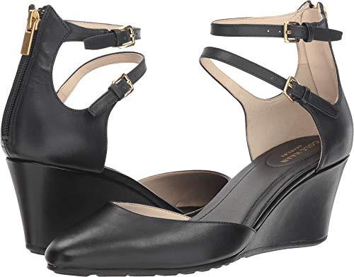 Cole Haan Women's Maddie Wedge Black Leather 9.5 B US B (M)