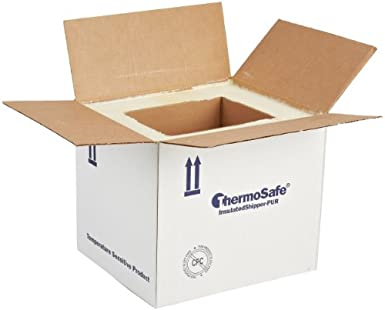 846b67fe67fe ThermoSafe E38 Polyurethane Foam Insulated Shipper Container, 3 ...