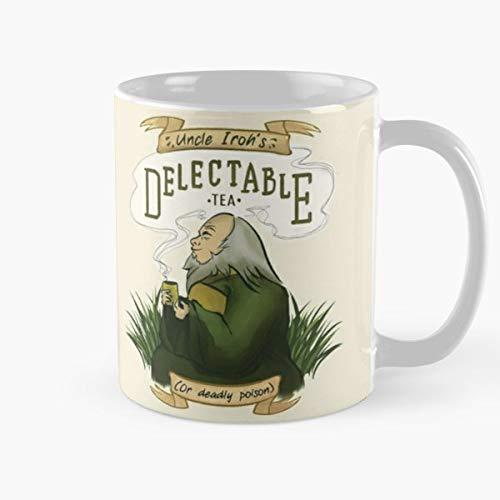 Atla Avatar The Last Airbender Firebender Best Gift Mugs Iroh Uncle Tea Drink Cute Anime Cartoons Mug Coffee Best Personalized Gifts