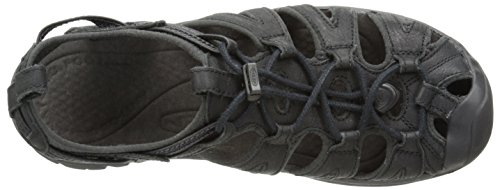 KEEN Whisper Leather W Calzado Black/raven