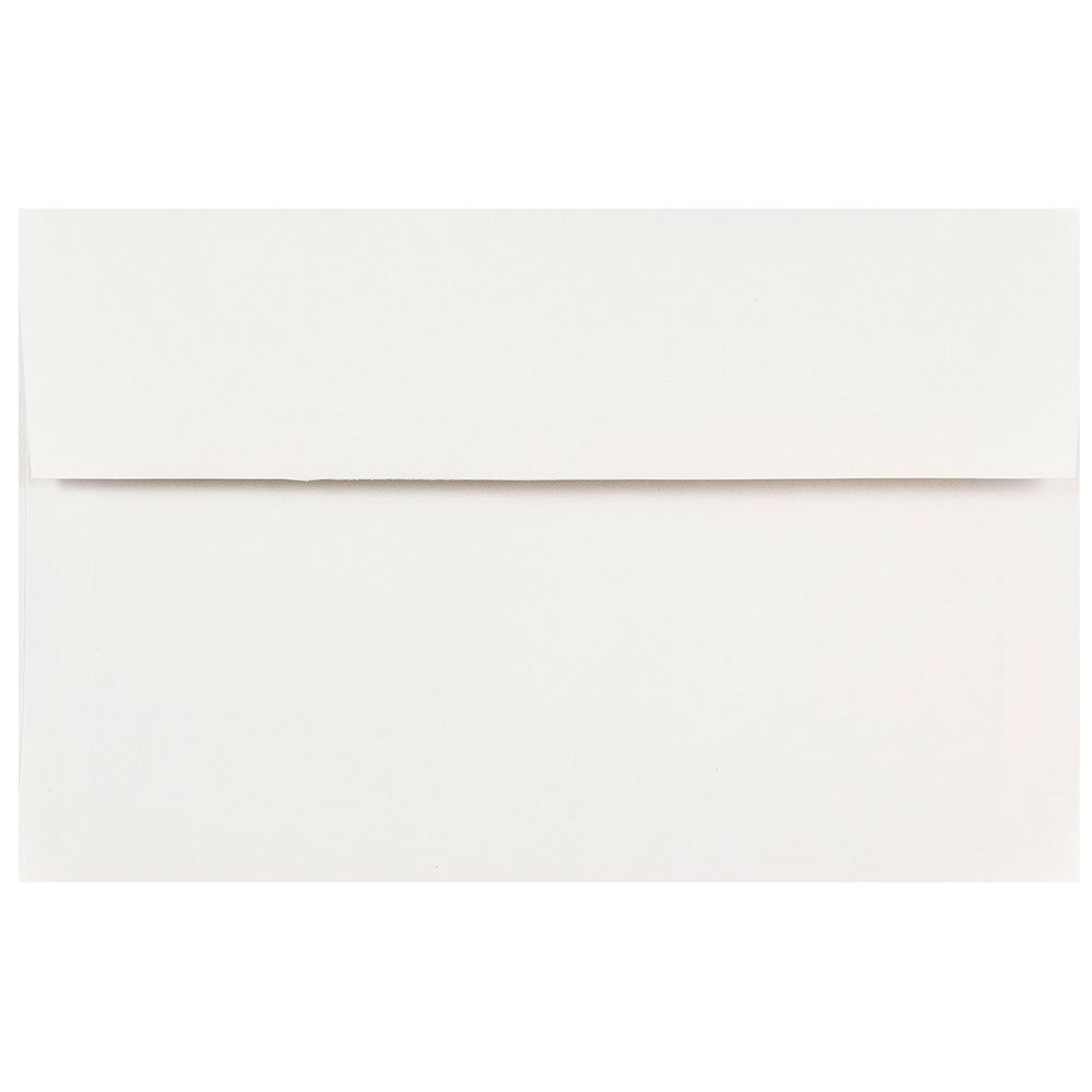 JAM Paper A10 Invitation Envelopes - 152.4 x 241.3mm (6 x 9 1/2) - White - 25/Pack JAM Paper & Envelope 12039