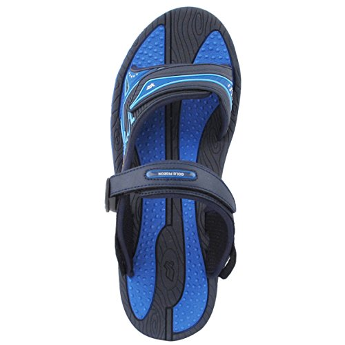 Sandals 5 Women Slide Blue 8655 Upper 7 11 Arch GP7592 Breathable Size Support Comfort Men Adjustable with Durable Lite Men xIwpTYgq