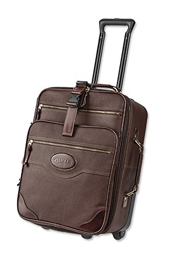 Orvis Bullhide Carry-on Roller, (Orvis Leather Luggage)