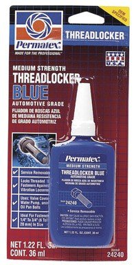 Permatex Threadlocker 1.22 Oz. Blue by Itw Global Brands