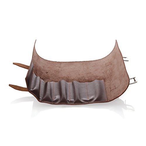 Max Capdebarthes Sammlertasche für 6 Messer Trousse, Choco(braun)