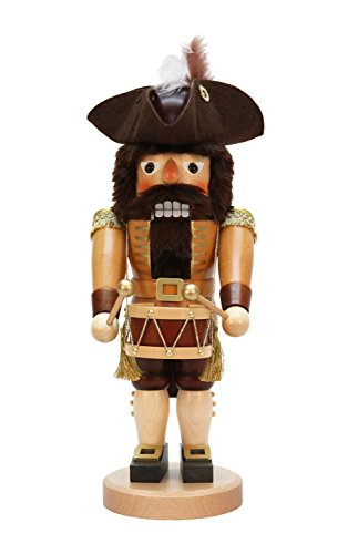 Alexandor Taron Home Decor Christian Ulbricht Natural Drummer Nutcracker by Alexander Taron