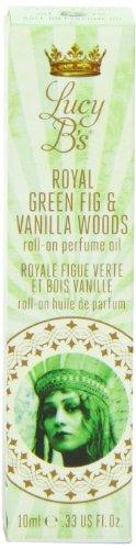 Люси B Косметика Ро, Королевский зеленый инжир и ванильный лес, 0,33 жидкая унция