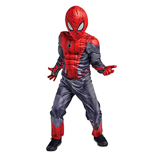 Marvel Spider-Man Costume Set for Kids - Spider-Man: Far from Home Size 4 Multi