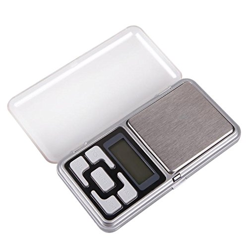- NTRUNGKIEN- Portable 500g x 0.1g Mini Digital Scale Jewelry Pocket Balance Weight Gram