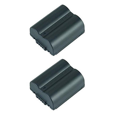 Leica Replacement Battery - 2 Pack of Leica BP-DC5-U Battery - Replacement for Leica BP-DC5-U Digital Camera Battery