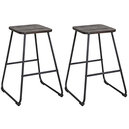Lch 24 Inch Backless Bar Stools For Home Kitchen