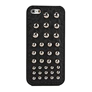 DUR Round Nails Pattern PU Soft Cases for iPhone 5/5S