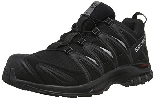 SALOMON Men's XA PRO 3D GTX Trail Runner, Black, 10.5 M US (Salomon Mens Xa Pro 3d Trail Running Shoe)