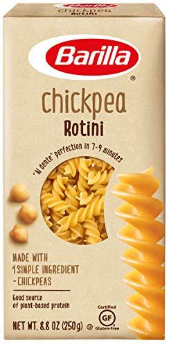 Barilla Chickpea Pasta, Gluten Free Pasta, Rotini, 8.8 oz