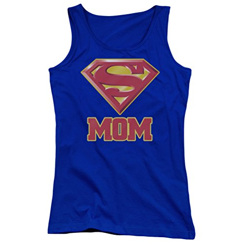 Superman+tank+tops Products : A&E Designs Juniors Super Mom Tanktop Superman Shield Tank Top