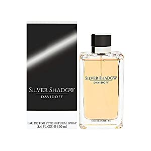 Silver Shadow By Davidoff For Men. Eau De Toilette Spray 3.4 OZ