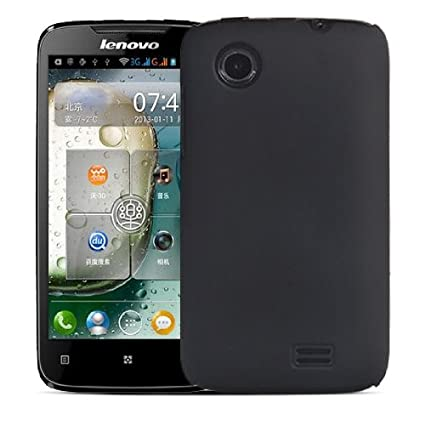 finest selection f0144 fddb8 Newtronics Black hard back cover case pouch for lenovo A369i A369 ...