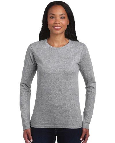 Langarm T-Shirt , Farbe:Sport Grey;Größe:M