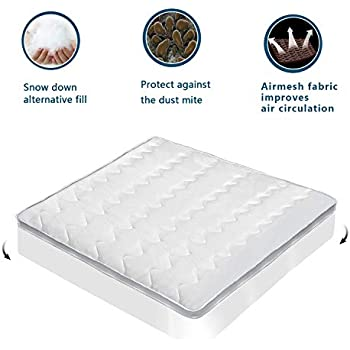 Amazon Com Marquess Mattress Topper With Double Deck