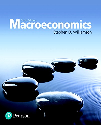 Macroeconomics (6th Edition) (The Pearson Series in Economics) -  Williamson, Stephen D., Hardcover