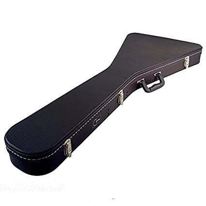 415e6a8ae1 Amazon.com: ProRockGear Artist Series Flying V Guitar Case: Musical  Instruments