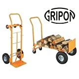 Gripon 200 kg Capacity Two Way Hand Trolley HT1842