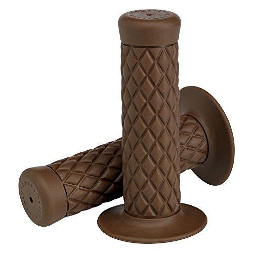 Biltwell GR-BUN-78-CO Chocolate 7/8 Thruster Grips Color: Chocolate, Model: GR-BUN-78-CO, Car & Vehicle Accessories / Parts