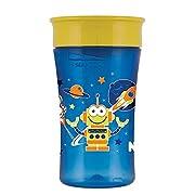 NUK Magic 360° Cup, 10 Ounce, Boy Colors