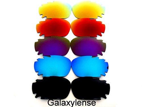 Galaxy Lentes De Repuesto Para Oakley Racing Jacket Polarizados 5 Pares,GRATIS S&H