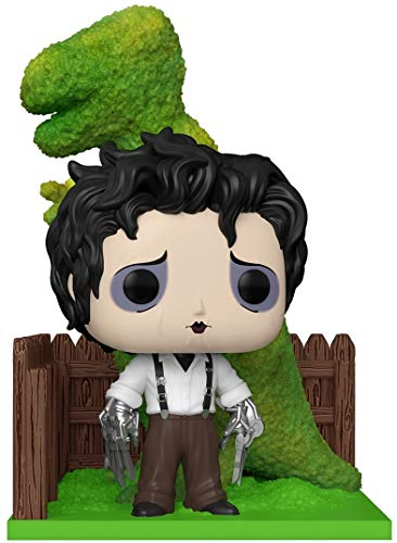 Funko- Pop Deluxe Edward Scissorhands-Edward & DinoHedge Figura Coleccionable, Multicolor (50274)