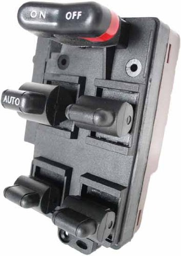 SWITCHDOCTOR Window Master Switch for 1990-1993 Honda Accord (replaces BLACK color plug version)