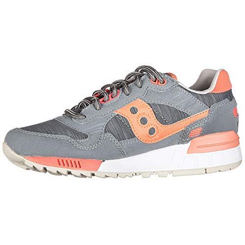5 Donna 5000 S60033 Scarpe Camoscio Eu 107 Saucony Grigio Shadow 37 Sneakers Nuove vYwqP
