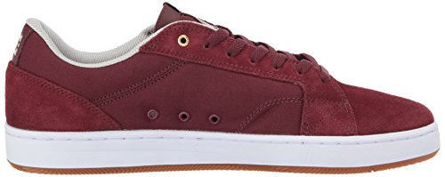 Dc Menns Astor Skateboardskoen Oxblood / Østers