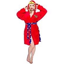 Underboss Womens Super Hero/Villain Hooded Costume Robe With Tie Waist (See More Characters and Sizes)
