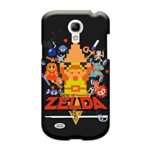 Durable Hard Cell-phone Cases For Samsung Galaxy S4 Mini (gfH11764Cfdr) Provide Private Custom Fashion Legend Of Zelda 8bit Series