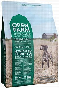 Open Farm Grain-Free Homestead Turkey and Chicken Dog Food 4.5 Pounds