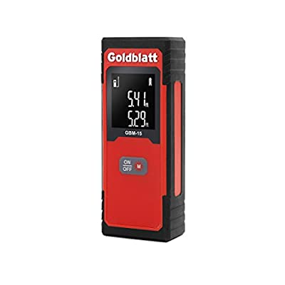 Goldbaltt 50Ft Laser Distance Measure Digital Laser Tape Measure