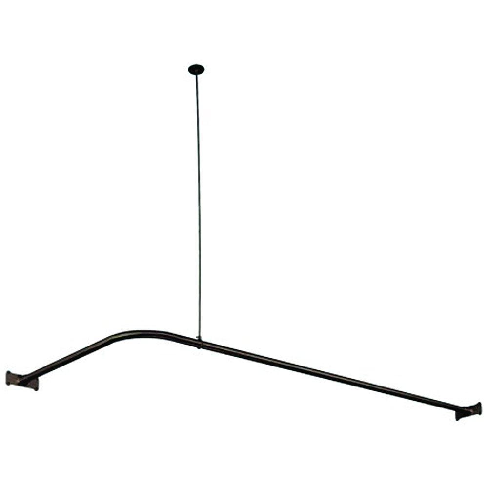Elements of Design ED3145 Corner Shower Rod Oil Rubbed Bronze by Elements of Design (Image #1)
