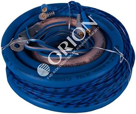 6500 Watts ORION Cobalt Complete 0 Gauge Amp Kit Oversize Wire
