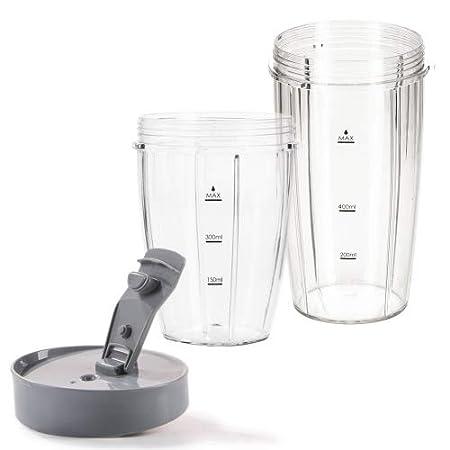 Nutri Mezclador con 13 partes de Genius Feelvita, licuadora de pie, para Smoothies, mezcla, agita, 23000 rpm, 600 vatios, 1 litro de capacidad: Amazon.es: ...