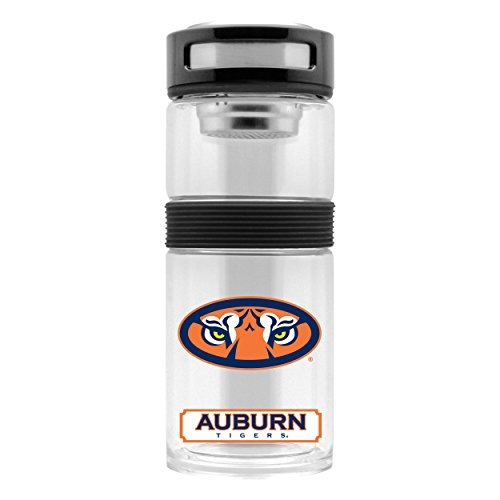 NCAA Auburn Tigers 14oz Insulated Glass Travel Thermos